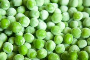 Frozen garden peas