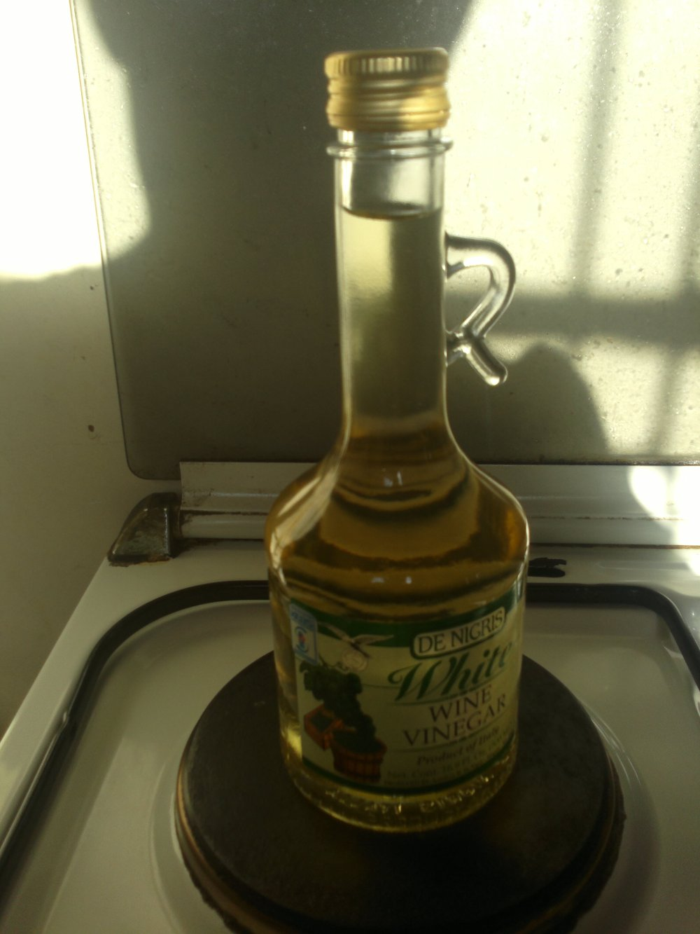 White wine vinegar..